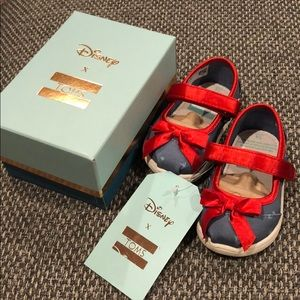 Toms x Disney Tiny Mary Jane Blue Snow White